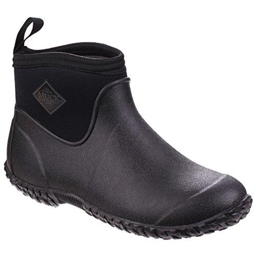 Muck Boot Mens Muckster II Ankle All-Purpose Lightweight Shoe (9 US) (Black/Black)