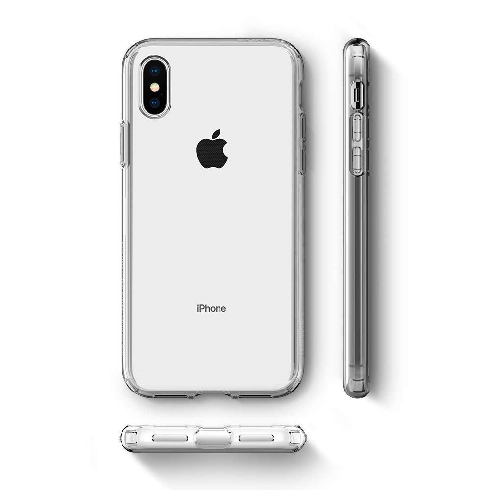 Spigen Liquid Crystal Designed For Apple Iphone Xs Max Case Geometric Pattern Softcase Air Casing 2018 Clear Cell Phones Accessories