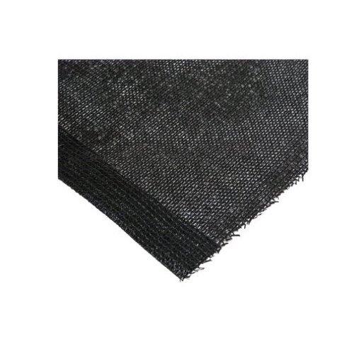 Easy Gardener 75020P Sun Screen Fabric, Heavy Black Shade