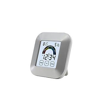 GZQ Termómetro digital para oficina en casa con pantalla LCD