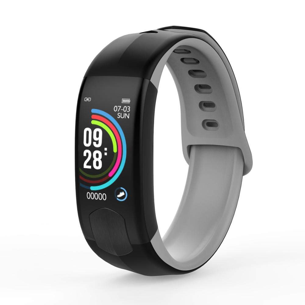 HI520 Blood Pressure Heart Rate Monitoring PPG ECG Smart Band Waterproof Smart Pedometer Fitness Tracker Wristband Bracelet Smart Sports Watch Fitness Tracking IP67 Waterproof