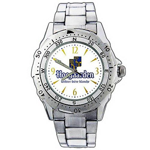 mens-wristwatches-pe01-1137-hoegaarden-witbier-beer-logo-stainless-steel-wrist-watch