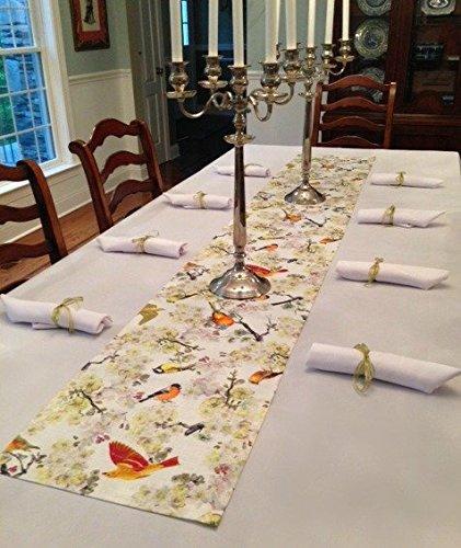 Elegant Tablecloth, Napkins And Bodrum Foret Runner 120 X 70 (Foret)