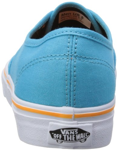 Vans U AUTHENTIC (POP)BLUATOLL/A - Zapatillas de lona unisex azul - Blau ((Pop) blue atoll/autumn glory)