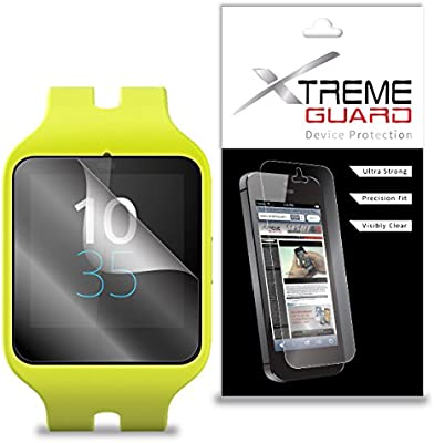 XtremeGuard Screen Protector for Sony Smartwatch 3 (Ultra Clear)