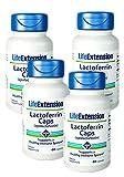 Life Extension Lactoferrin (apolactoferrin) Caps, 60 Capsules - Discount 4-Pak
