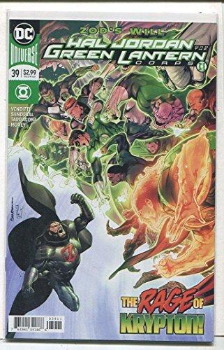 (Hal Jordan And The Green Lantern Corps #39 NM Rage Of Krypton DC Comics CBX18B)