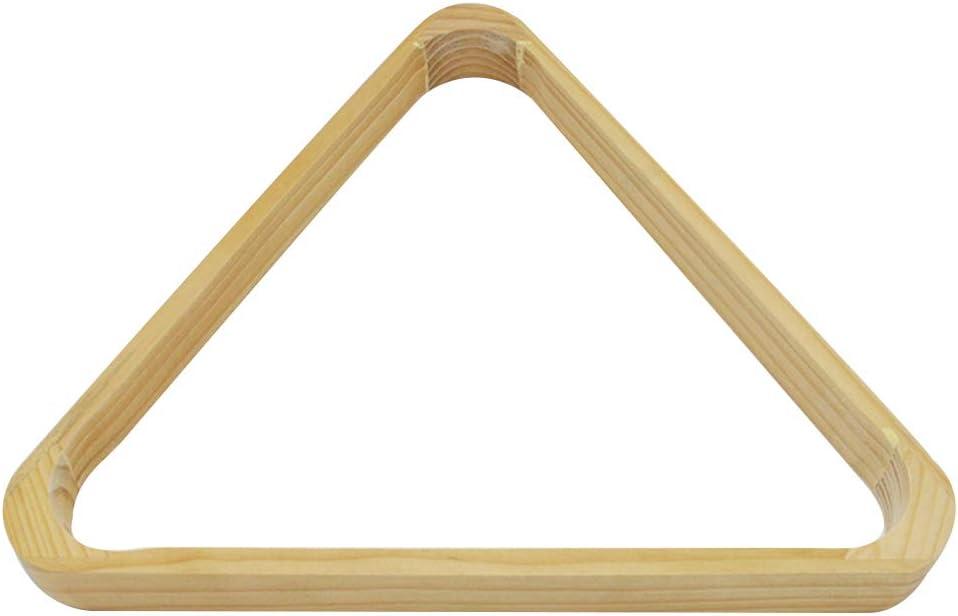 Rtengtunn - Bolas de Billar Americanas con Forma de triángulo de Madera para organizar estantes Resistentes, Accesorio de Almacenamiento para Juegos de Billar: Amazon.es: Hogar
