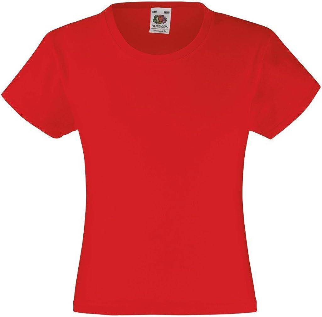 Fruit of the Loom Ss079b T-Shirt Bambina