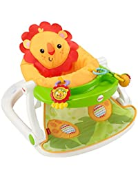 Fisher-Price Sit-Me-Up Floor Seat with Tray, Orange BOBEBE Online Baby Store From New York to Miami and Los Angeles