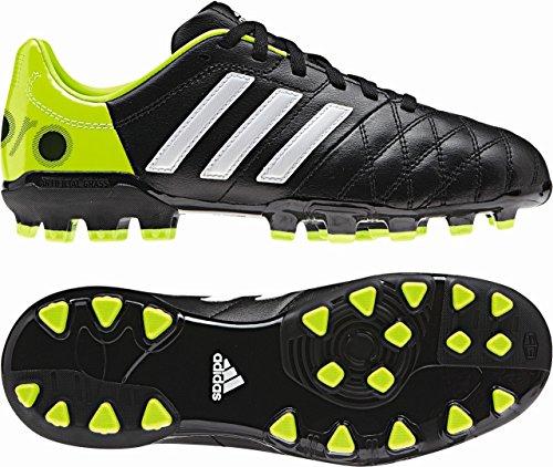 Adidas Schuhe Nockenschuhe 11 nova TRX AG Kinder Junior Kinder black1/runwh black-white-slime