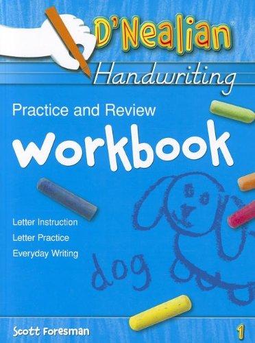 DNEALIAN HANDWRITING 1993 PRACTICE AND REVIEW WORKBOOK GRADE 1