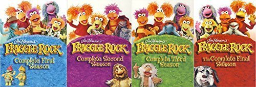 Fraggle Rock Complete Series Seasons 1-4 DVD Set!