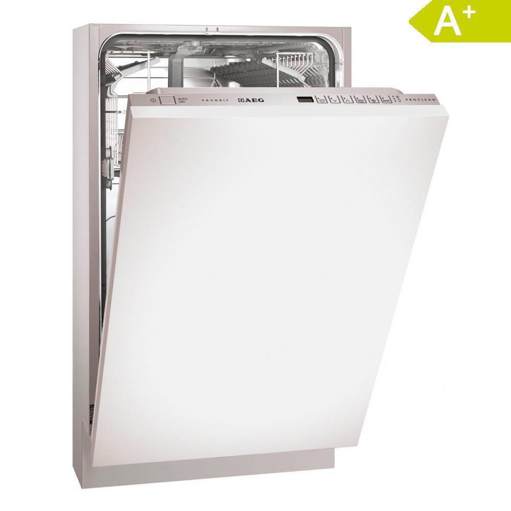 aeg f78400vi0p slimline integrated dishwasher amazon co uk large