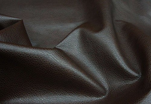 Upholstery Vinyl Faux Leather Vinyl Dark Brown Ford Fabric Per Yard Sold BTY 54