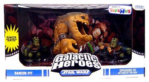 (Star Wars Galactic Heroes Mini Figure Rancor Pit Multi-Pack)