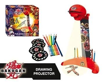 BAKUGAN IMC Toys 420069 - Proyector para dibujar con diseños ...