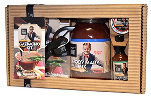 Bruce Julian Bloody Mary Gazpacho Soup Gift Pack Kit