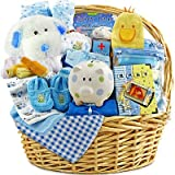 Dearest One Classic Baby Gift Basket- Boy