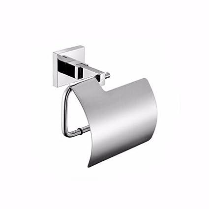 QMPZG-Estante de Papel Higiénico Acero Inoxidable 304 De Toallas De Papel Higienico Rollo De