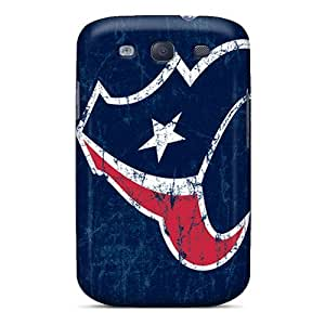 Hot Fashion EYy17357HJYK Design Cases Covers For Galaxy S3 Protective Cases (houston Texans)
