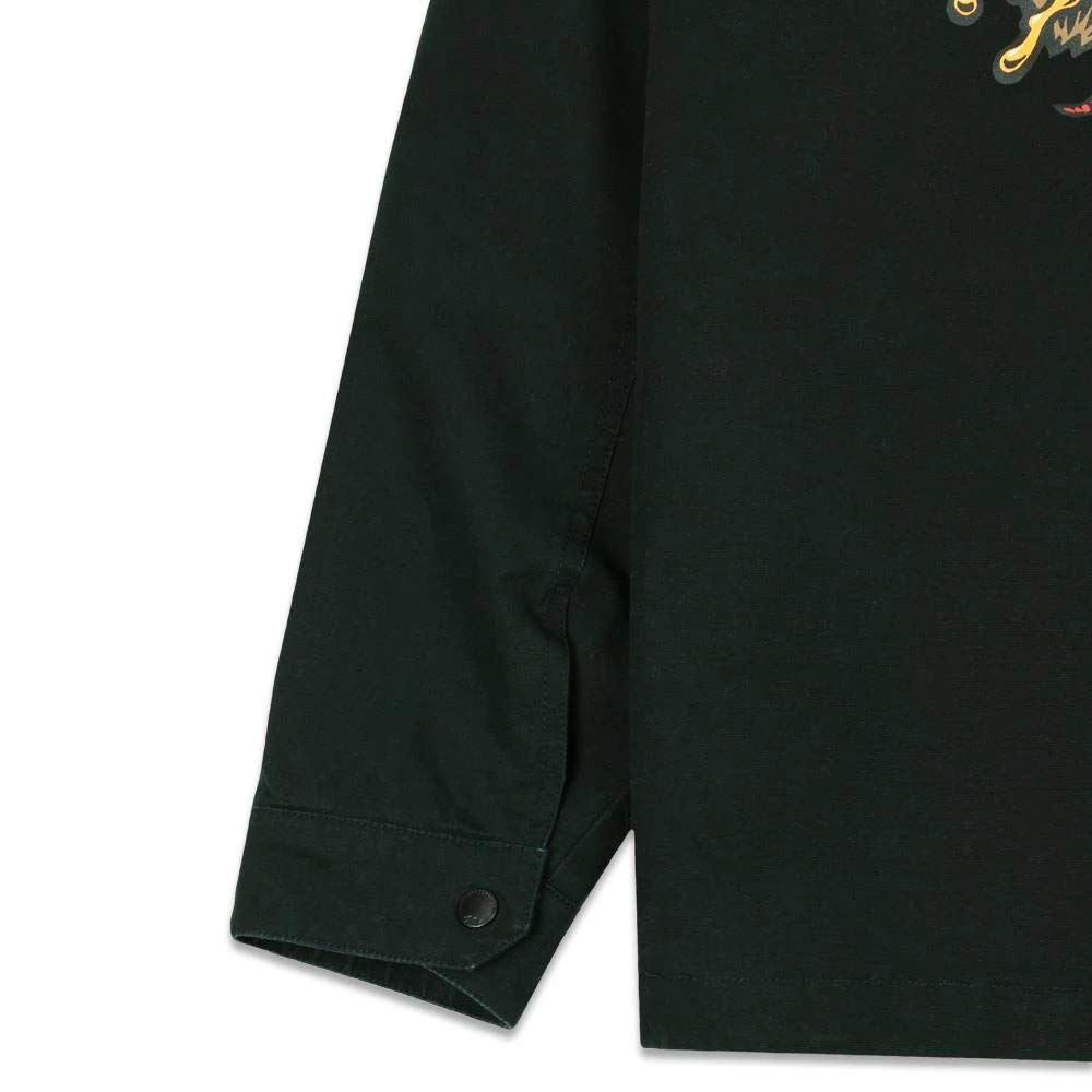 Grassroots California Jimbo Phillips GRC Bear Black Work Jacket