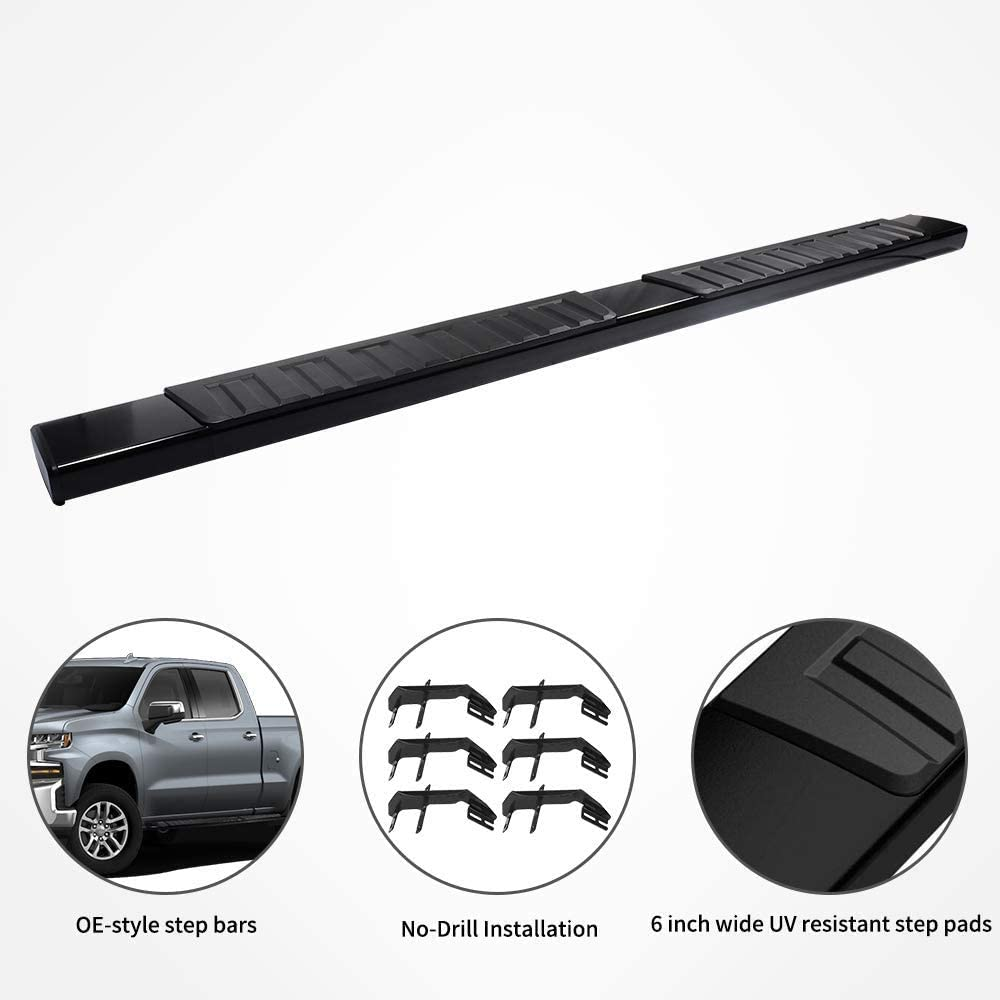 Running Boards Exclude 2019 Classic YITAMOTOR 6 inches Running ...
