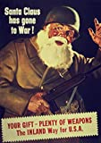Santa Claus Has Gone to War Propaganda WW2 1942 Print/Poster (59.4cm x 42cm)