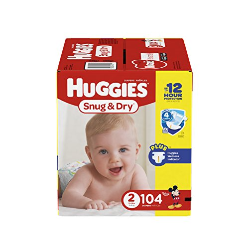 diapers size 2 - 3