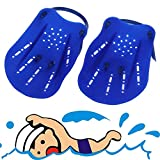 1pair Adult Kids Swimming Webbed Diving Gloves Swimming Paddle Fins Utility Paired Swim