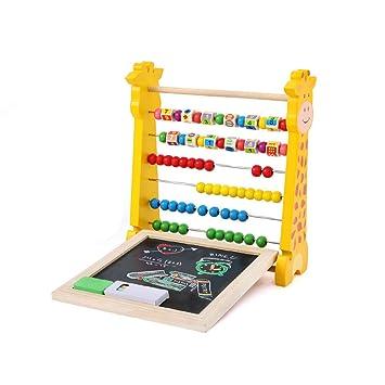 FGASAD Juguete de abacus de madera, soporte de computación ...