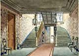 John Nash The Staircase from Views of the Royal Pavilion, Brighton 34x24