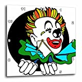 3dRose dpp_11155_1 Wall Clock, Clown, 10 by 10-Inch Review