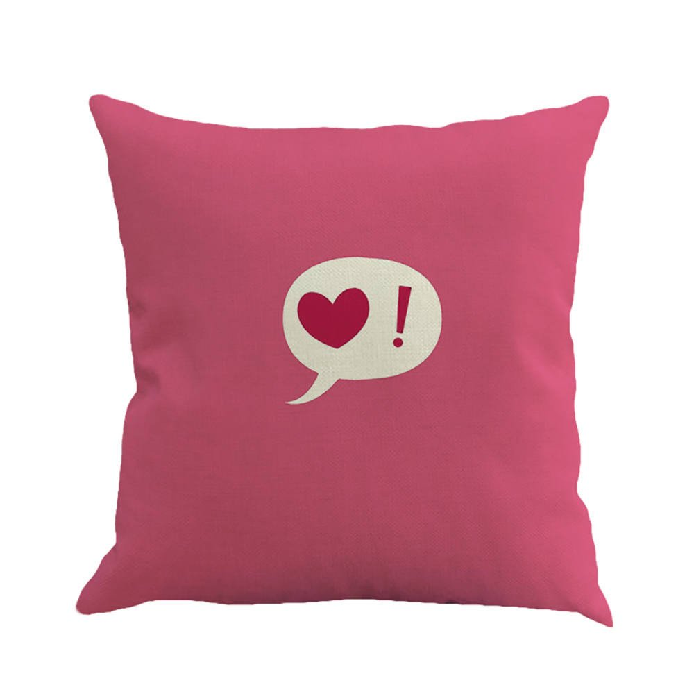 Mome Square Cushion Cover for Valentine's Day (E)
