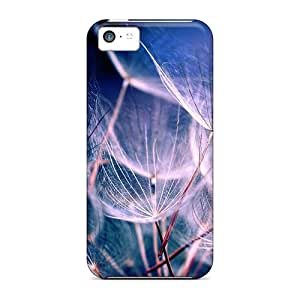 For Oklwtws3684AqhXc White Dandelions Nature Protective Case Cover Skin/iphone 5c Case Cover