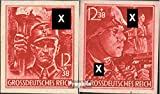 German Empire 909U-910U (complete.issue.) not more dentate because War unmounted mint / never hinged 1945 party formations (Stamps for collectors)