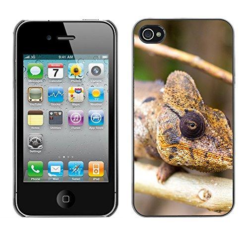 Premio Sottile Slim Cassa Custodia Case Cover Shell // F00015728 Caméléon // Apple iPhone 4 4S 4G