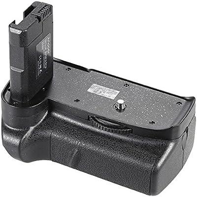 Andoer® BG-2F Battery Grip Titular de Empuñadura Vertical para ...