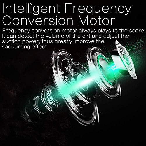 DHTOMC Vide Intelligent Balayage Robot, Intelligent Neato Robotics avec LED écran Tactile Bonne Aspiration Puissance Auto Charging Conçu Pet Et Hard Floor Cheveux Xping