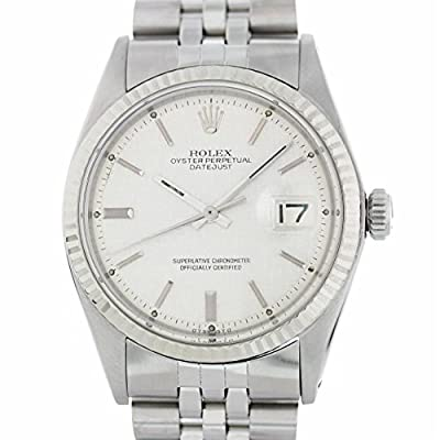 Rolex Datejust Automatic-self-Wind Male Watch 1601 (Certified Pre-Owned) by Rolex