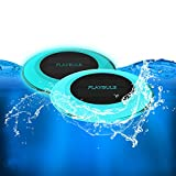 PLAYBULB Solar Pool Floating Light, Waterproof RGB Color Changing Outdoor Living LED Garden Light with Timer and APP Bluetooth Control