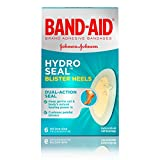 Band-Aid Brand Hydro Seal Adhesive Bandages for Heel Blisters, Waterproof Blister Pads, 6 ct (4-Pack (6 ct))