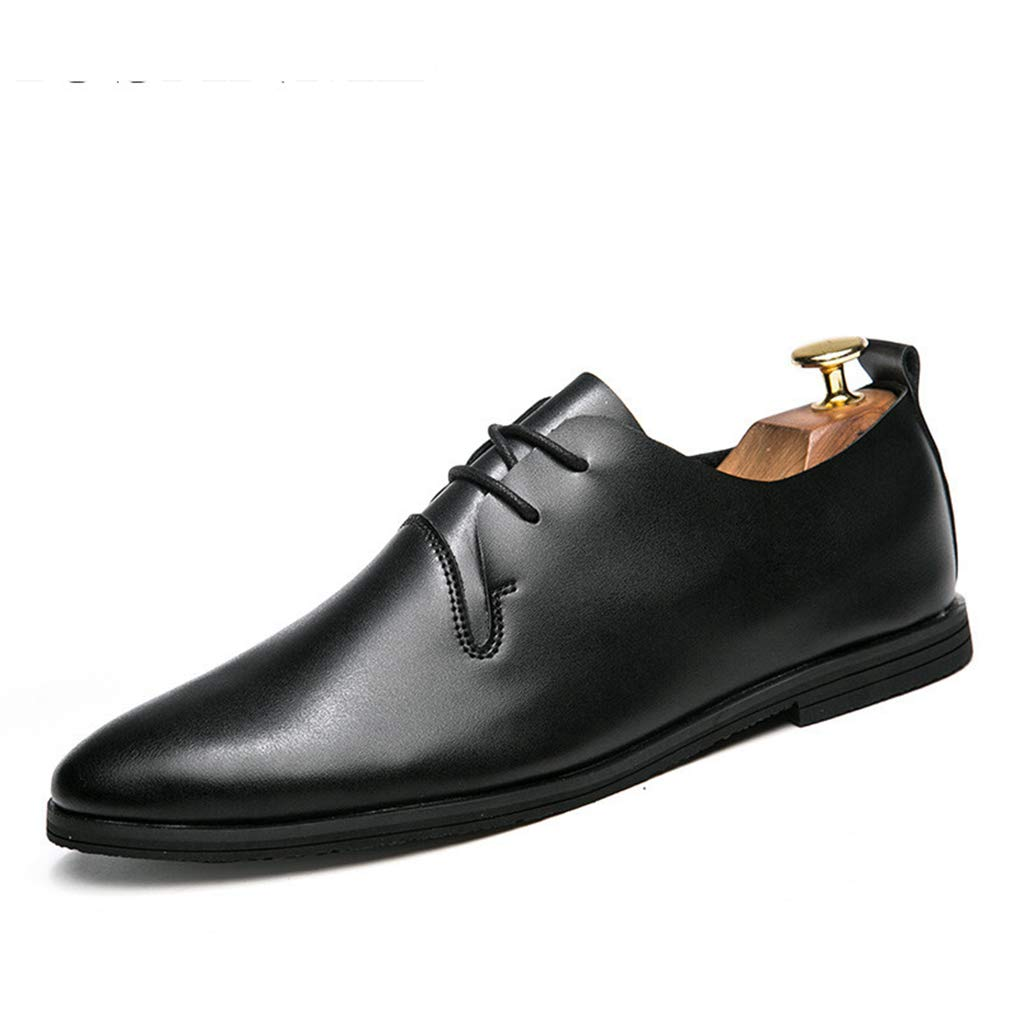 Starttwin Mens Formal Shoes Elegant Folding Fashion Comfortable Pointed Toe Oxford Shoes