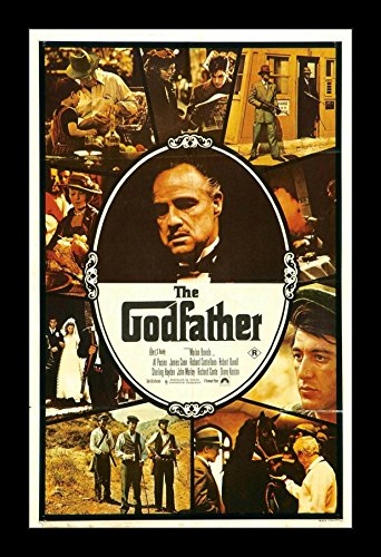 The Godfather - 11x17 Framed Movie Poster by Wallspace