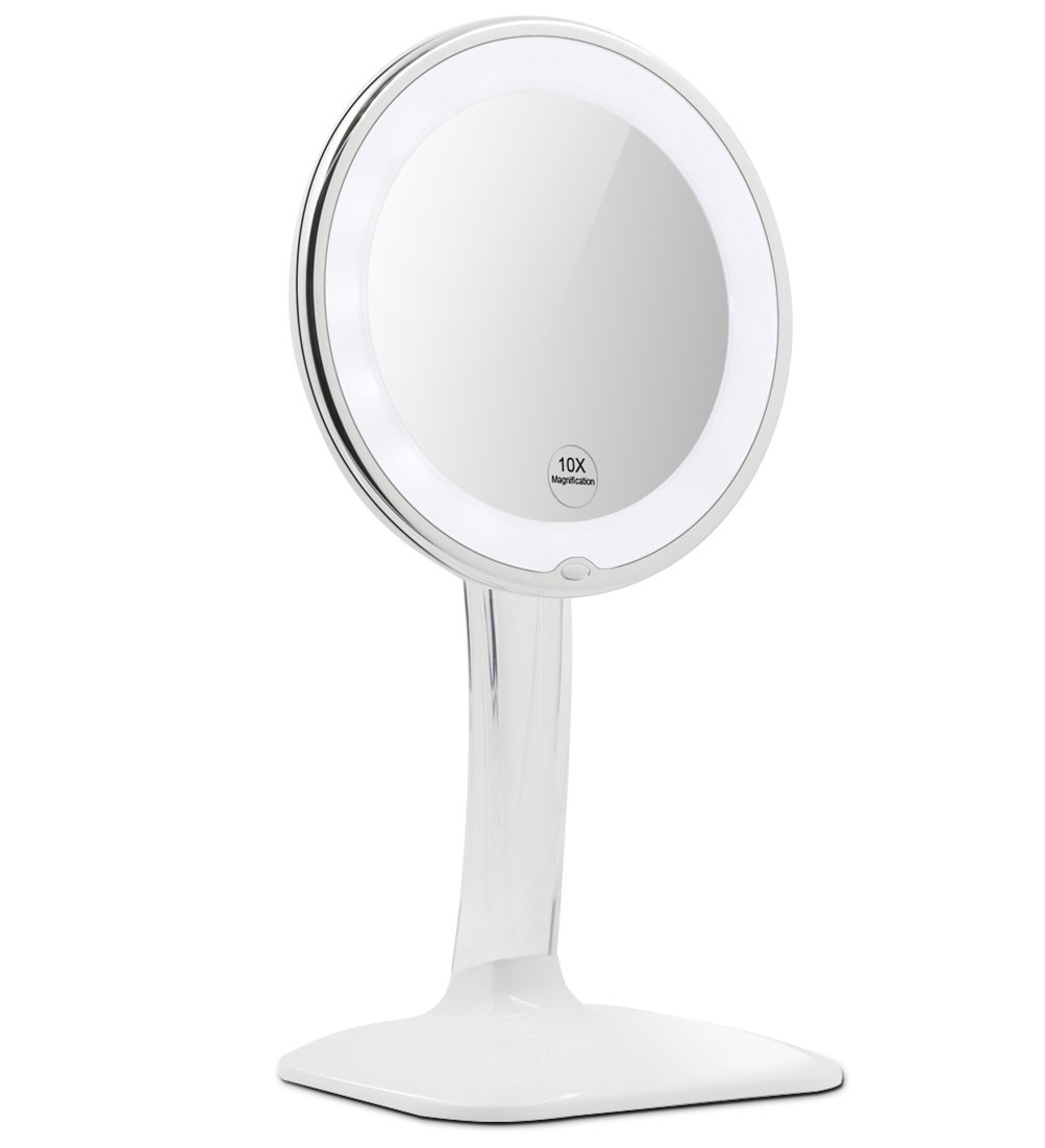 Terresa 10X Magnifying Lighted Makeup Mirror