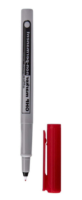 F Gr/ün Office Point Folienstift abwischbar 10 St/ück OHP-Marker Stift Feinschreiber wasserl/öslich non-permanent Fein 6431100-04