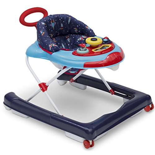 Delta Children First Exploration 2-in-1 Activity Walker, Lift Off