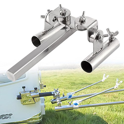 Boat Fishing Rod Holder Double Pole Support Stand - Buy