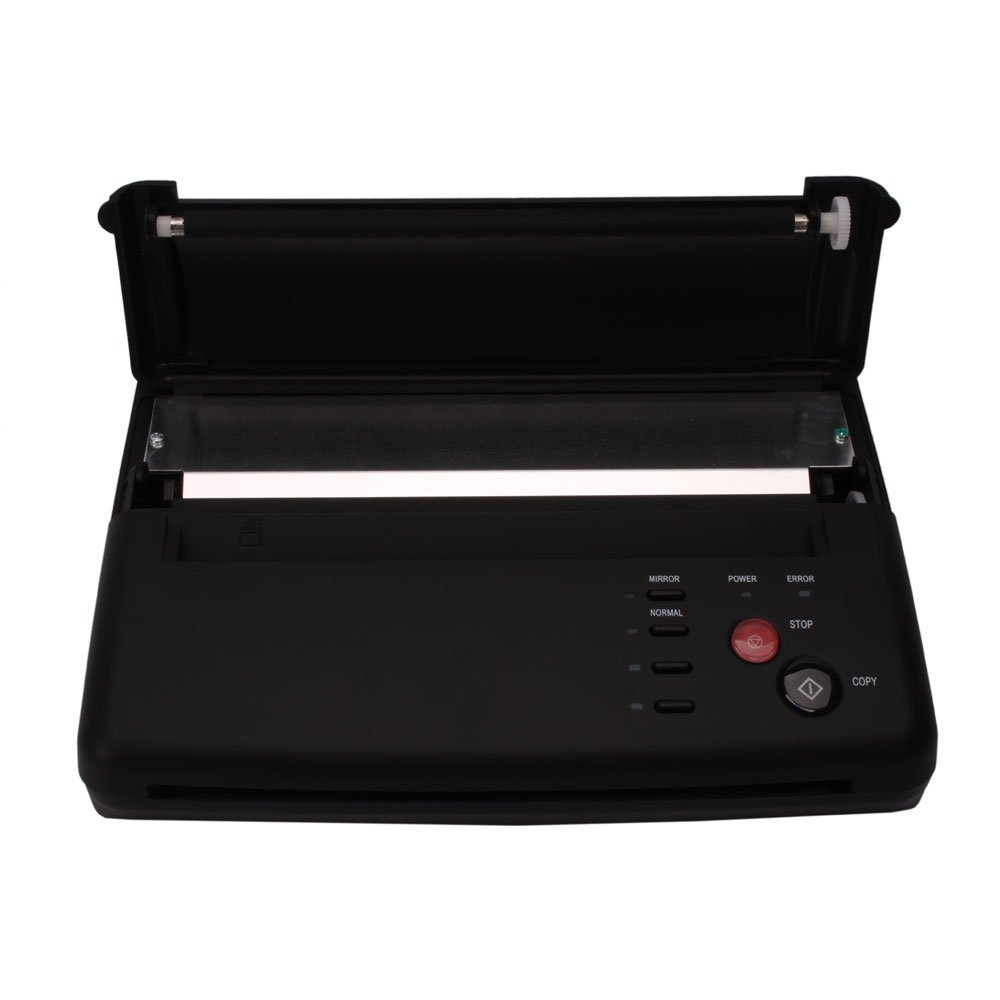 Black Professional Tattoo Transfer Stencil Machine Thermal Copier Printer (#1) by Z ZTDM (Image #9)