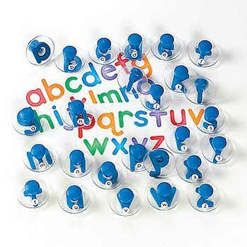 26 Lower Case Alphabet Stampers